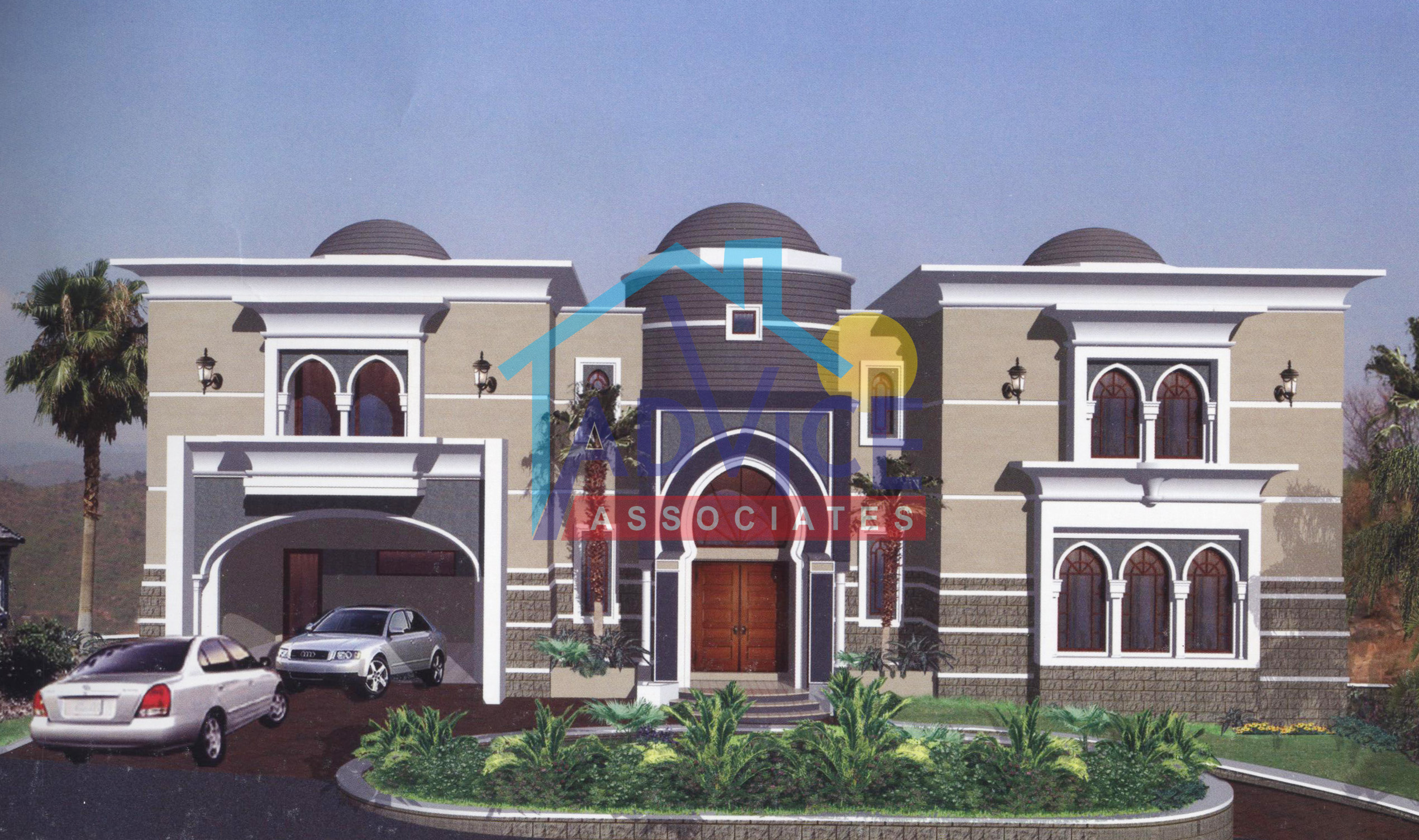 Front Elevation In Bahria Town : House design marla knal in fda city faisalabad